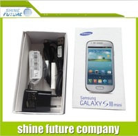 For Samsung galaxy S3 mini box new box package Paper Packed Packing box with full accessories free shipping