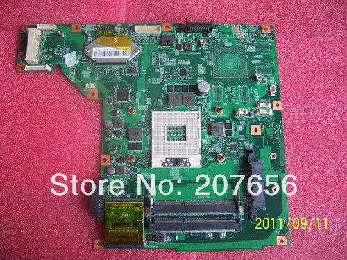 100% Working system board MS-16G11 VER:OB FOR MSI FR600 laptop motherboard, 90days warranty !(China (Mainland))