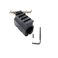 "Funpowerland Mount w Weaver Rail /for 0.75"" Barrel .223 Low Profile Tactical Gas Block"