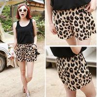 2014 HOT Sexy Leopard Shorts classic animal print shorts summer Lolita dress hot short pants Free Shipping S M L