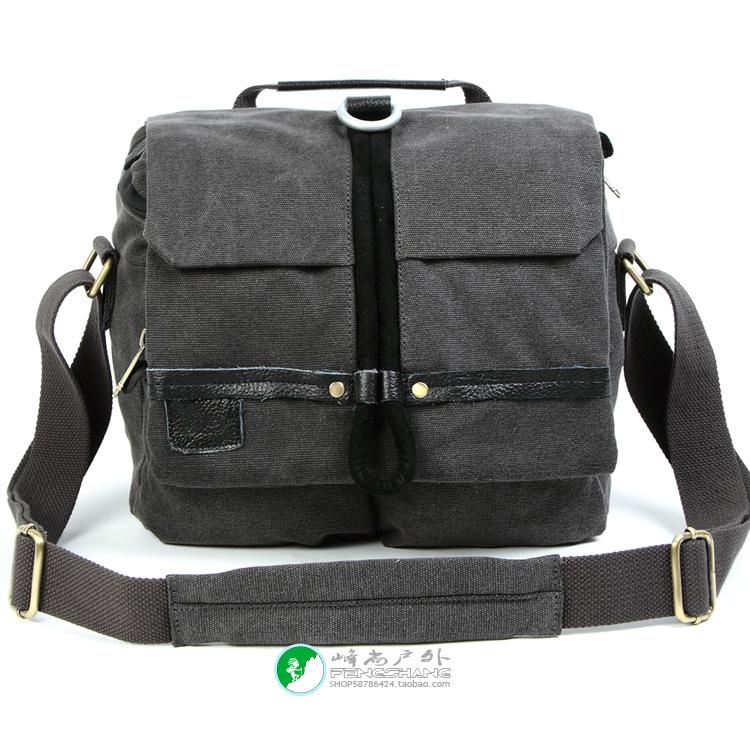 RUSH brand waterproof case outdoor camera canvas bag dslr for 60d 70d 7d d90 d7000 d7100 d7200 d5100 d3100 accessories (R6712)(China (Mainland))