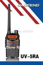 BaoFeng UV-5RA Two-Way Radio(Black), Dual band UHF/VHF Ham 136-174/400-520MHz