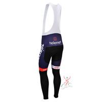 LOTTO 2013 team cycle BIB pants trousers Winter Fleece Thermal Cycling bike Full Length stretch tight biking Wear