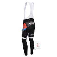 cube 2013 team cycle BIB pants trousers Winter Fleece Thermal Cycling bike Full Length stretch tight biking Wear
