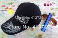 SHIN letters sunshade baseball cap Ms sun hat han edition spring tide fashion hat A duck