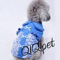 Pet clothes teddy dog clothes spring and summer clothes princess lace elastic shirt vest