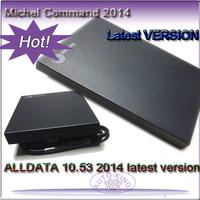 2014 ALLDATA 10.53 + Mitchell 2014 + Autodata3.38+ELSA+B.osch ESI+Vivid+ECm with Original Brand New hard Disk with 1000GB