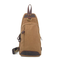 2014 New Casual Vintage Style Canvas Sling Messenger Bag For Men And Women Sports Cross Body Bags Chest Bag Shoulder Bag