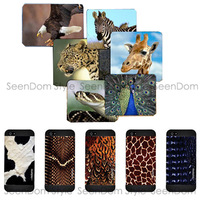 HD Color Painting Wildlife Crocodile Leopard Animal Skin Cover Quality Plastic Case For iPhone 5 5S PC117-5