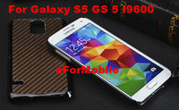 Hard Case Back Cover Mobile Phone Case Leather Cover  for Samsung Galaxy S5 GS 5 I9600