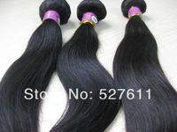 3 PCS Women 100% 5A BRAZILIAN Virgin REMY Human Hair Extensions STRAIGHT