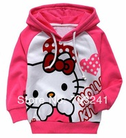 NEW fashion Mickey/minnie mouse hello kitty boys girls clothes long sleeve children hoodies kids clothing sweatshirts