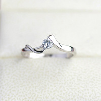 2014  Wedding rings for Couple stainless steel jewelry Fashion Brand Italina