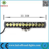 60W atv led light bar driving lights led off road led light with Spot/ Flood/ Combo beam for Jeep/4wd/trucks/atv/4x4/suv