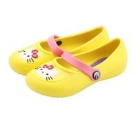 hello kitty cat pattern princess shoes garden shoes free ship fashion kids baby girl children shoes