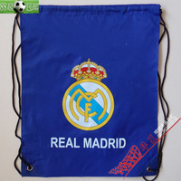 Shiralee real madrid storage bag backpack double-shoulder grocery bags shoes and bags backpack
