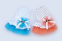Cute Dog Dress Summer Wedding Dinner Party Pet Skirt Fashion Lace Trim Doggie&Puppy Dress(XS-XL)