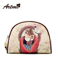 Artmi2014 spring cosmetic bag vintage rabbit the trend of fashion cartoon female bags