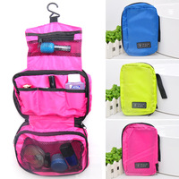 (Min order $10) Waterproof oxford fabric multifunctional travel wash bag cosmetic bag storage multicellular g700