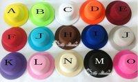 13cm 12pcs/lot Free Shipping Hen Party Felt Plain Mini Top Hat. 15 colors. DIY Mini hat