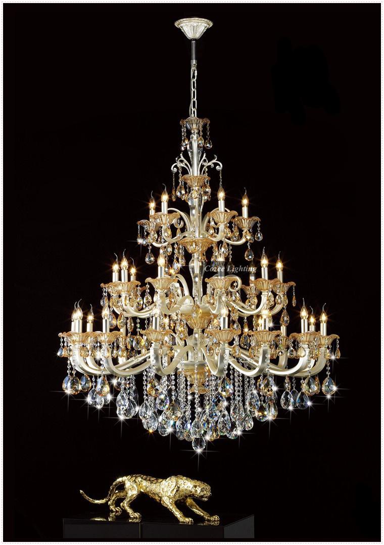 lampadari di lusso : ... di cristallo da Grossisti ottone lampadario di cristallo Cinesi
