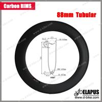 23mm Width 88 tubular rims road full carbon bicycle rim/700c carbon rims tubular