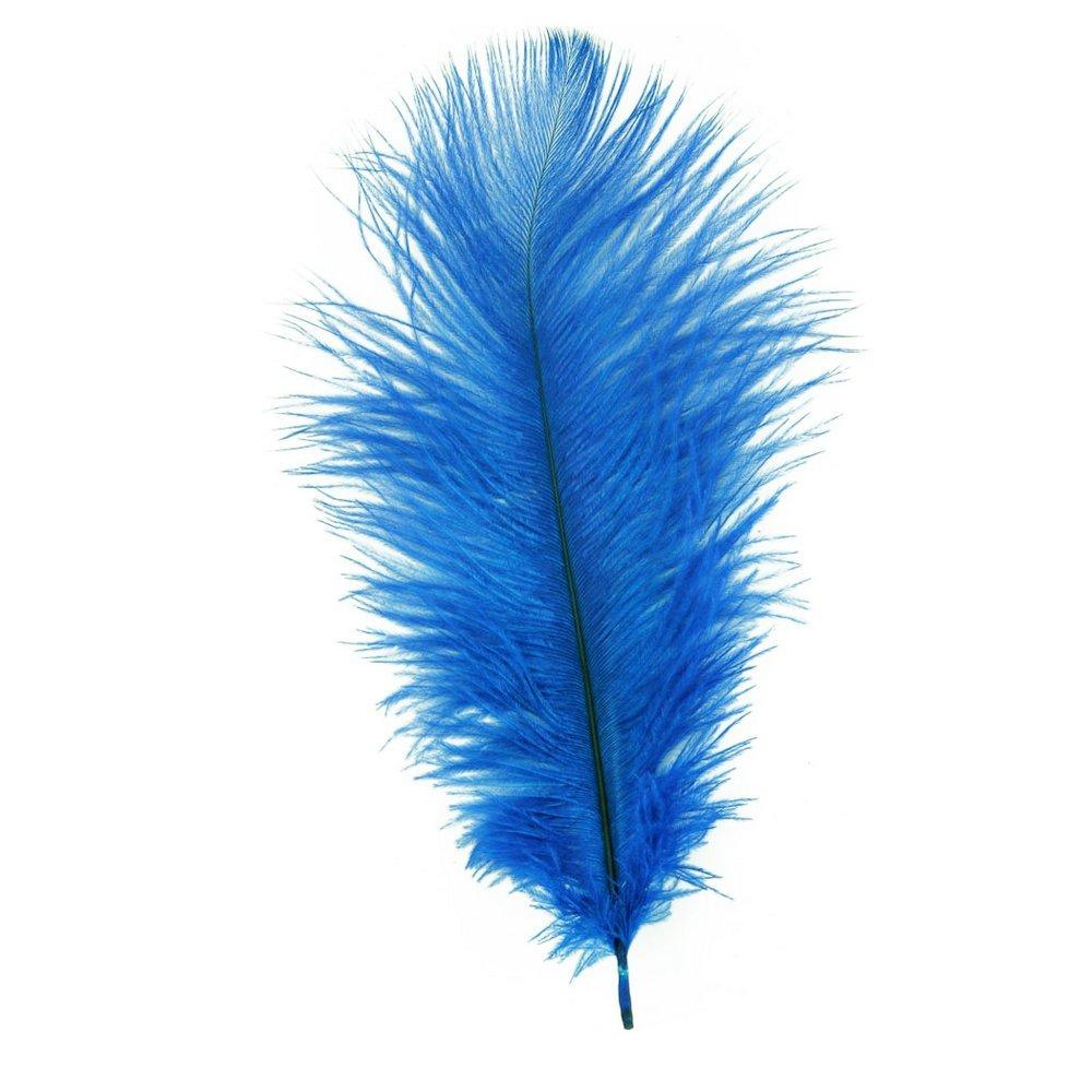 Achetez En Gros Perruque Plume Bleue En Ligne 224 Des