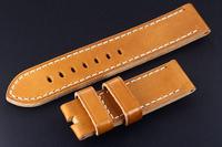 OP013 Handmade Calf Skin Watch Leather Watchband 24mm For Panerai