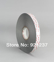 Free Shipping 10mm x33m 3M VHB 4941 Grey Acrylic Double Sided Foam Tape 10mmx33m