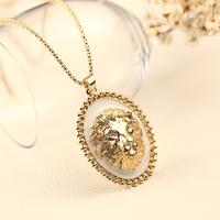 New arrival quality Women necklace lion necklace