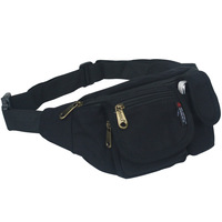 Outdoor waist pack sports waist pack multifunctional canvas waist pack ride small messenger bag casual bag chest