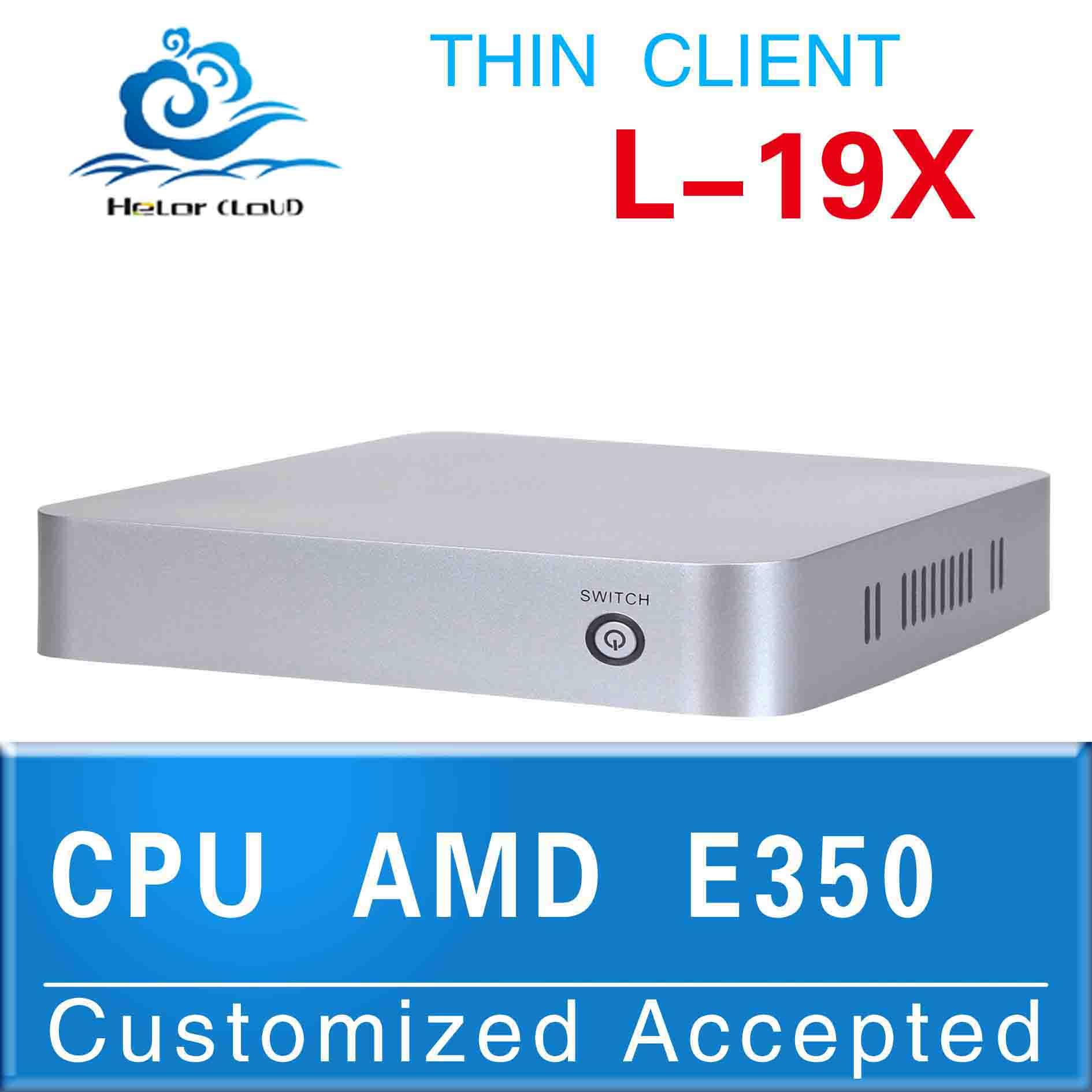desktop computer AMD E350 1.6GHZ linux mini pc vga support full screen movies(China (Mainland))