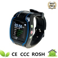 Real-time GPS Watch Quad-band Watch Security with Mobile SOS Function Phone GPS Tracker