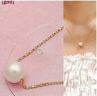 Min order $10 (mix order) Wu alloy jewelry wholesale short contracted temperament type of pearl necklace
