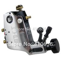 Professional Rotary Tattoo Machine Gun Silver Color Stigma Hyper V3 Style Shader Liner