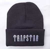 new TRAPSTAR Beanies men's hiphop wool hat , Cotton knitted casual caps, Women Fashion sport Caps ,retail free shipping
