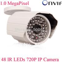 1280x720 HD CCTV Camera Onvif H.264 1.0 Megapixel 720P Network IP Camera 48 IR Outdoor Camera Support Blue Iris