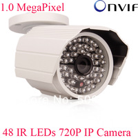 Onvif H.264 1.0 Megapixel 1280x720 HD 720P Network IP Camera 48 IR Outdoor Camera Support Blue Iris