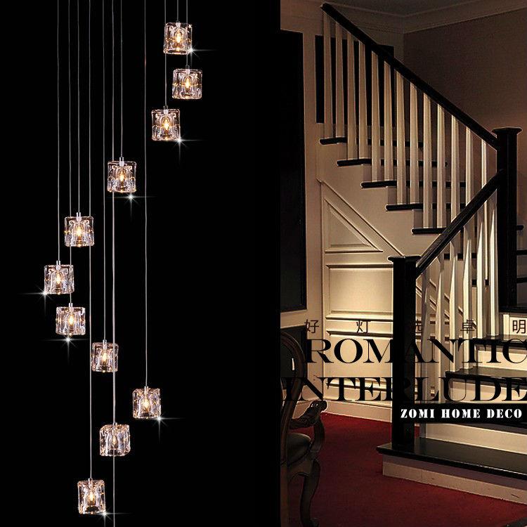 Modern ice crystal G4 20w lamp beads 12 heads vertical