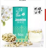 100% organic high quality 2014 Chinese jasmine flower tea Green ecological  tea free shipping