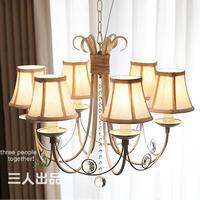 2014 New Seconds Kill Freeshipping Lustre Fashion Lamp Living Room Lights American Style Pendant Light Rustic Restaurant Brief