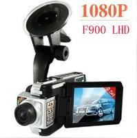 2013 New F900LHD car dvr camera recorder 1920*1080P 25FPS HDMI Motion Detection 2.5'' LCD car video camera F900LHD Free shipping