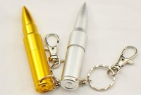 Retail Real Capacity Pen Drive USB Memory Stick 4gb 8gb 16gb 32gb USB Flash Drives Metal Bullet Shape