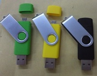 Free shipping 16gb Promotional Gift Swivel USB for Handphone,Smart phone usb flash drive