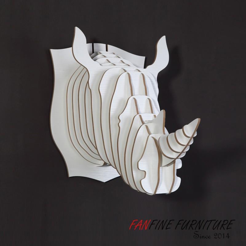Декоративные головы животных на стену своими руками