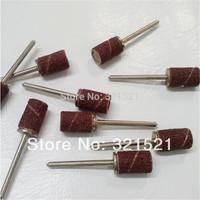 Free Shipping 1X10 Pcs Nail Drill Bits For Electric Nail Drill Supporting Nail Sanding Choice 80#  120#   180#