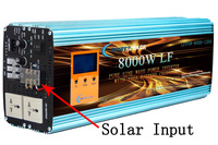 4 in 1 8000W off grid pure sine wave power inverter dc 48v to ac 220-240v /120A battery charger/ solar charger