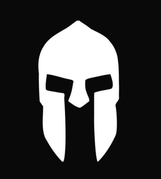 spartan helmet logo Qu...