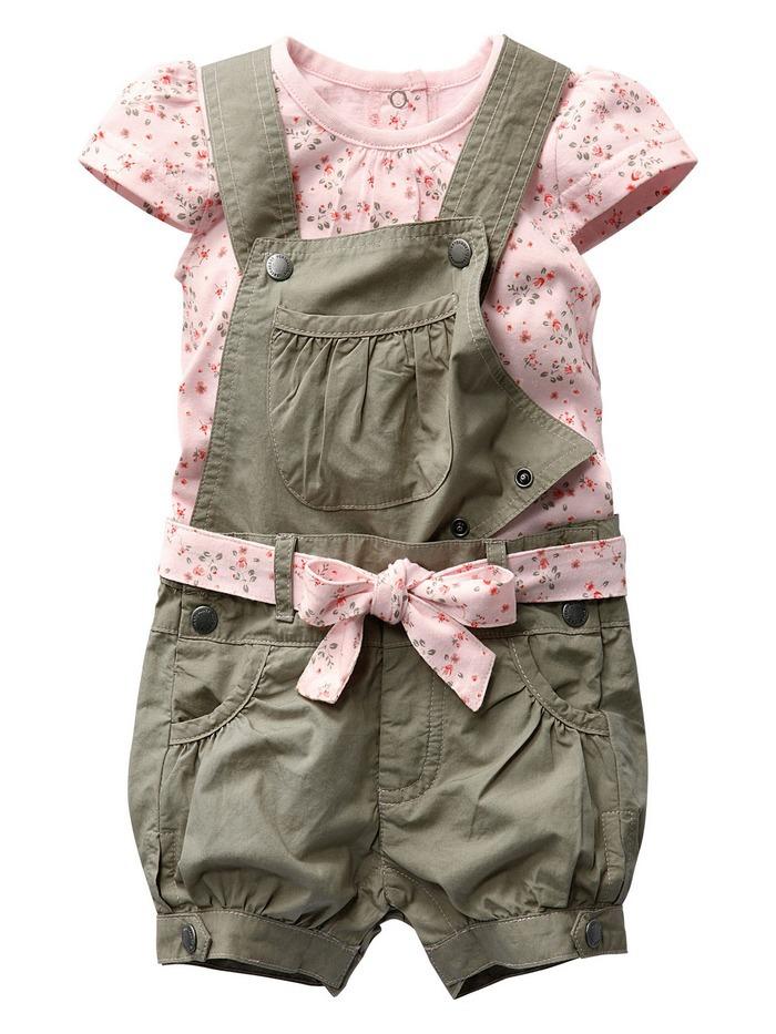 Al dettaglio 2014 bambine abiti estivi ragazze vestiti di cotone set per 0-2 anni bambino floreale t- shirt + tuta + cintura spedizione gratuita