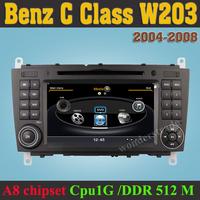 Car DVD Player radio GPS Mercedes Benz C Class W203 CLK W209 G ClaSS  W467 + 3G WIFI INternet + 1GB cpu + DDR 512M RAM